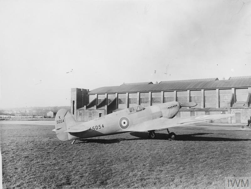 Spitfire Prototype K5054 maiden flight from Eastleigh airfield - 5th
